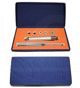 Kit Peeling de Diamante HTM - Caneta Diamantada com 5 ponteiras