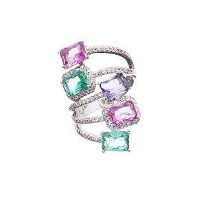 Anel Luxo Aros Colors