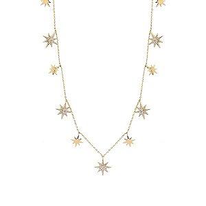 Colar Medalhas de Estrela