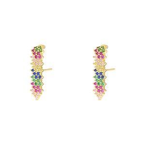 Brinco Ear Hook Rainbow