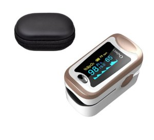 Oximetro de Pulso Medidor SpO2 Elera e Monitor de Sono Com Case
