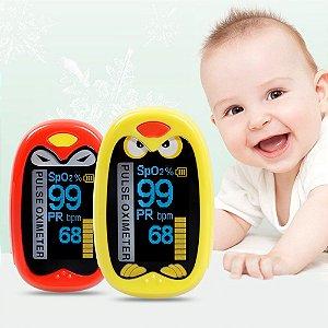 Oxímetro de Dedo Infantil e Neonatal Recarregável Elera