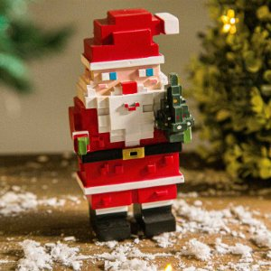Papai Noel Pixel - P
