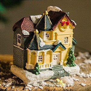 Casinha Decorativa de Natal