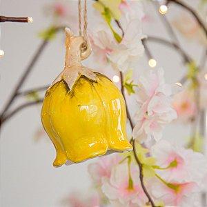 Sino Flor Amarelo