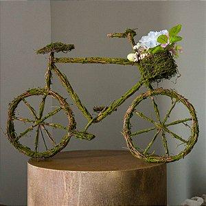 Bicicleta Decorativa com Cestinha - MOSTRUÁRIO