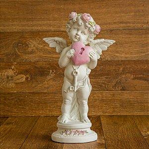 Anjo Floret com a Chave do Coração