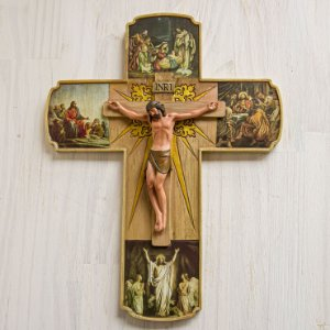 Crucifixo - A vida de Cristo