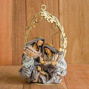 Pingente de Arvore de Natal G Sagrada Família