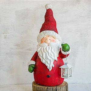 Papai Noel de Jardim Vermelho