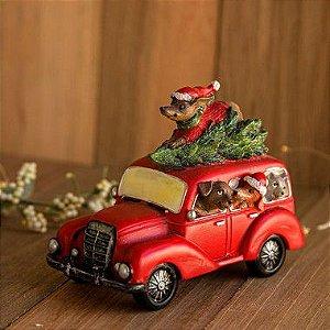 Carrinho de Natal dos Pets