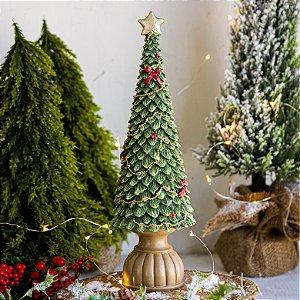 Mini Árvore Para Enfeite de Natal