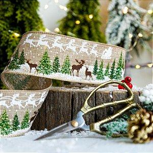 Fita Decorativa Para Árvore de Natal