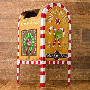 Caixa Postal Biscoito do Papai Noel Personalizada