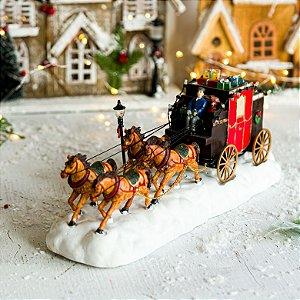 Carruagem Para Enfeite de Natal