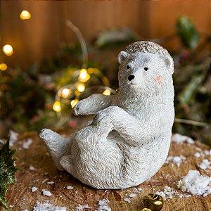Urso Decorativo de Natal