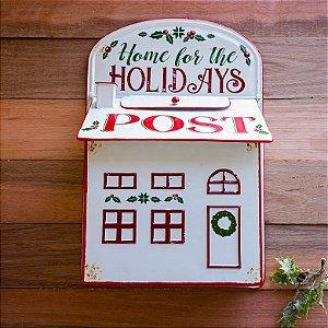 Caixa de Correio Decorativa de Natal