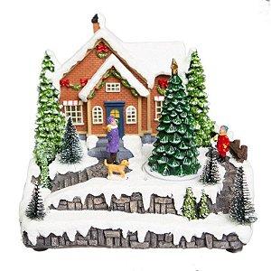 Vila de Natal Musical com Árvore de Natal