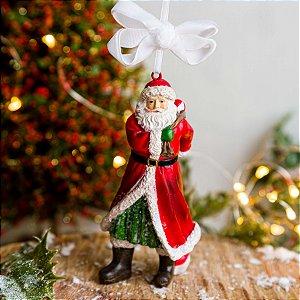 Enfeite Papai Noel com Bola