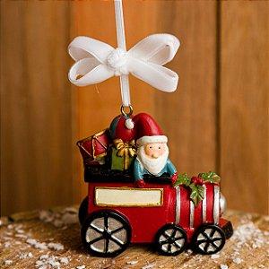 Enfeite Locomotiva do Papai Noel