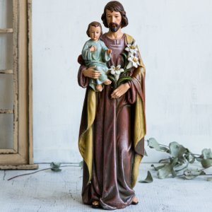 Imagem de São José com Menino Jesus (G)