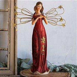 Anjo da Paz com Passarinho