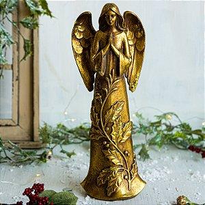 Anjo em oração Gold