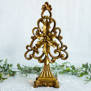 Árvore Decorativa Luxo Gold (P)