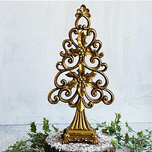Árvore Decorativa Luxo Gold (G)