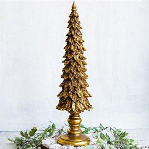 Árvore Decorativa Folhas Gold