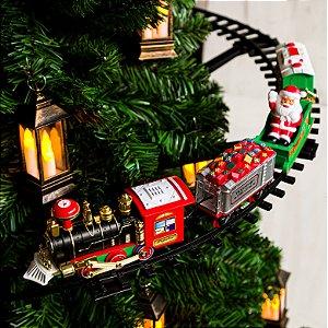Trenzinho Para Árvore de Natal