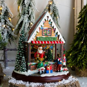 Caixa de Música Loja do Papai Noel