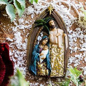 Enfeite Sagrada Família Para Pendurar