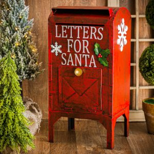 Caixa Postal Vermelha de Natal