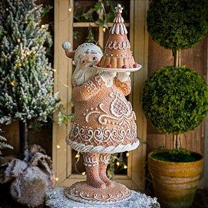 Papai Noel Árvore de Doces Gingerbread