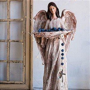 Anjo da Paz com Porta Vela
