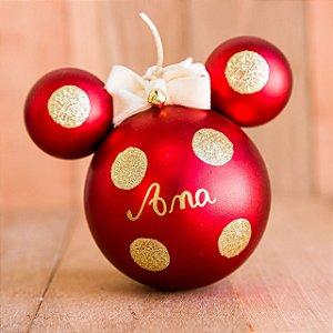 Bola Disney com Poás Douradas (P) - apenas hoje produto beneficente