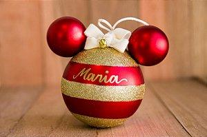 Bola Disney com Listras Douradas (P) - apenas hoje produto beneficente