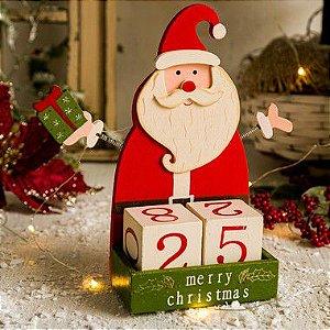 Calendário de Natal Papai Noel
