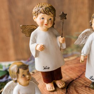 Anjo com Varinha 12 cm Personalizado