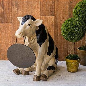 Vaquinha - Vaca com a Lousa Personalizável