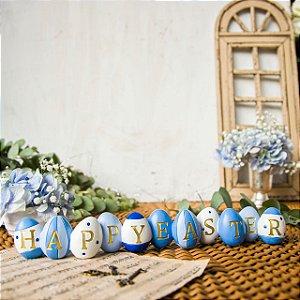Letreiro Happy Easter Ovinhos