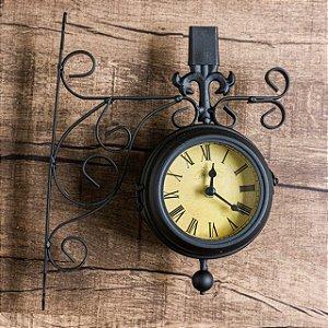 Relógio de Parede - Estação Antique