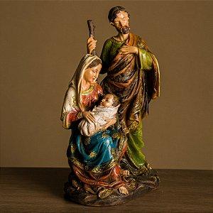 Imagem da Sagrada Família-  25 cm