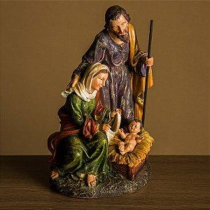 Imagem Sagrada Família - 30 cm