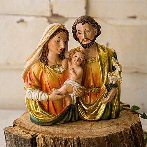 Imagem Sagrada Família Busto