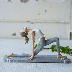 Mulher posição Yoga