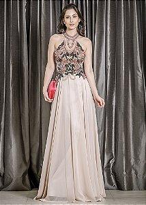 Vestido Longo Ellizabeth Marques - Rosa
