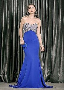 Vestido Longo Tomara que Caia Pronovias - Azul Royal