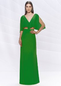Vestido Longo Arte Sacra Coutture - Verde